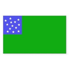 Vermont 1770s-1804 Rectangle Decal