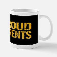 U.S. Navy: Proud Parents (Black & Gold) Mug