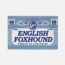 ENGLISH FOXHOUND Rectangle Magnet (10 pack)