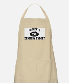 Property of Kennedy Family BBQ Apron