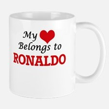My heart belongs to Ronaldo Mugs