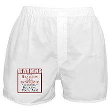 Restless Leg Syndrome Boxer Shorts