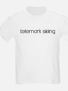 Telemark Skiing (modern) T-Shirt