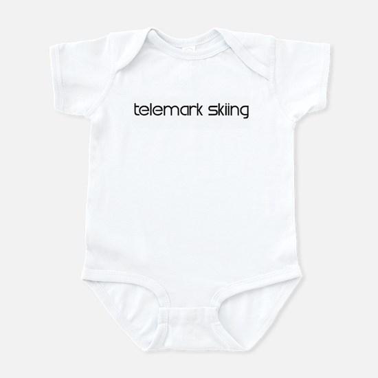 Telemark Skiing (modern) Infant Bodysuit