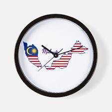 Cool Malaysia Wall Clock