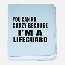 I Am Lifeguard baby blanket