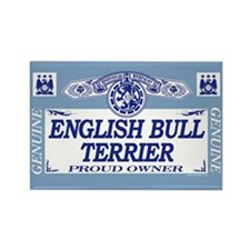 ENGLISH BULL TERRIER Rectangle Magnet