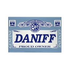 DANIFF Rectangle Magnet (10 pack)