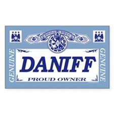 DANIFF Rectangle Decal