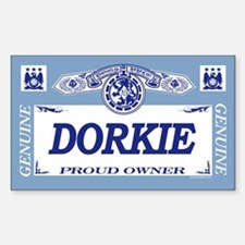 DORKIE Rectangle Decal
