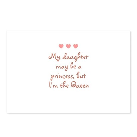 My daughter may be a princess Postcards (Package o