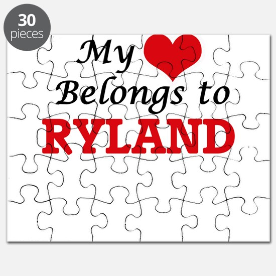 My heart belongs to Ryland Puzzle