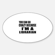 I Am Librarian Decal