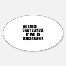 I Am Lexicographer Decal