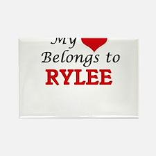 My heart belongs to Rylee Magnets