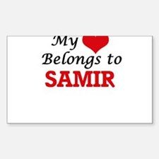 My heart belongs to Samir Decal