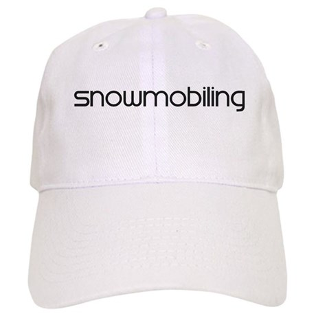Snowmobiling (modern) Cap