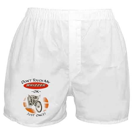 Don't Touch My Whizzer Boxer Shorts