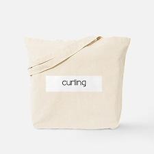 Curling (modern) Tote Bag