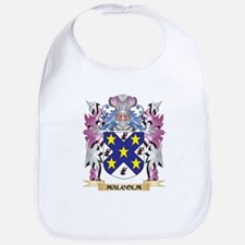 Malcolm Coat of Arms - Family Crest Bib