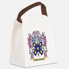 Malcolm Coat of Arms - Family Cre Canvas Lunch Bag