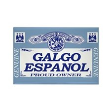 GALGO ESPANOL Rectangle Magnet