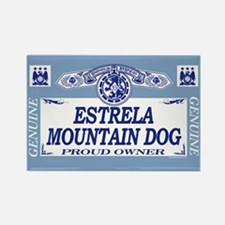 ESTRELA MOUNTAIN DOG Rectangle Magnet (100 pack)
