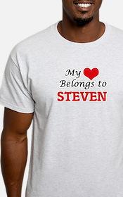 My heart belongs to Steven T-Shirt