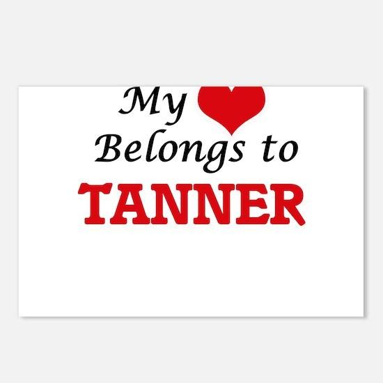 My heart belongs to Tanne Postcards (Package of 8)