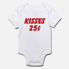 """""""Kisses 25 cents"""" Baby / Infant creeper"""