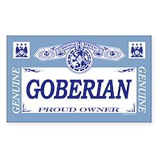 GOBERIAN Rectangle Decal