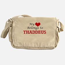 My heart belongs to Thaddeus Messenger Bag
