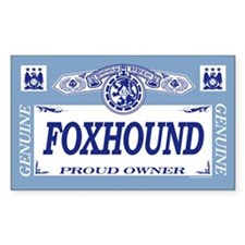 FOXHOUND Rectangle Decal