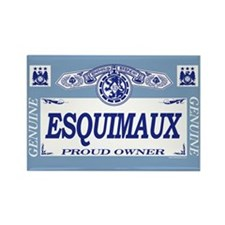 ESQUIMAUX Rectangle Magnet
