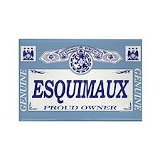 ESQUIMAUX Rectangle Magnet