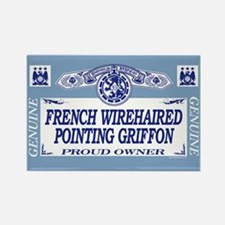 FRENCH WIREHAIRED POINTING GRIFFON Rectangle Magne