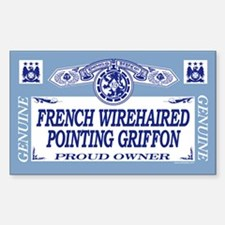 FRENCH WIREHAIRED POINTING GRIFFON Decal