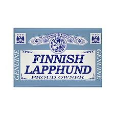 FINNISH LAPPHUND Rectangle Magnet (10 pack)
