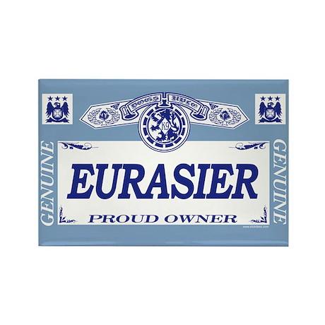 EURASIER Rectangle Magnet (100 pack)