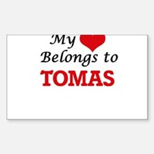 My heart belongs to Tomas Decal