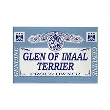 GLEN OF IMAAL TERRIER Rectangle Magnet (100 pack)
