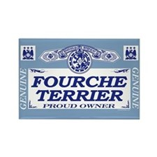 FOURCHE TERRIER Rectangle Magnet