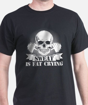Unique Sweat is fat crying T-Shirt
