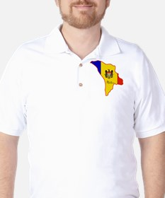 Cool Moldova Golf Shirt