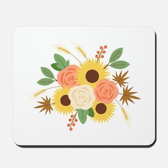 Fall Harvest Bouquet Mousepad