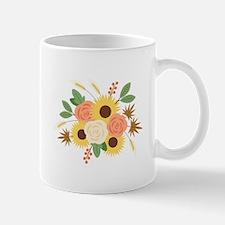 Fall Harvest Bouquet Mugs