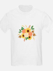 Fall Harvest Bouquet T-Shirt