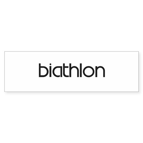 Biathlon (modern) Bumper Sticker