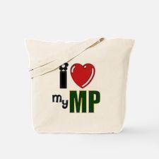 Funny Mp girlfriend Tote Bag