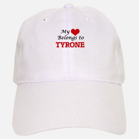 My heart belongs to Tyrone Baseball Baseball Cap